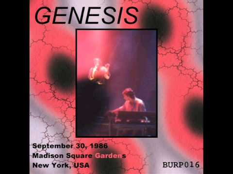 Genesis Live At The Madison Square Garden 1986 09 30