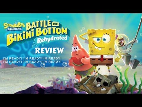 Spongebob Squarepants Battle For Bikini Bottom: Rehydrated |