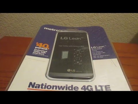 Unboxing: LG Leon LTE