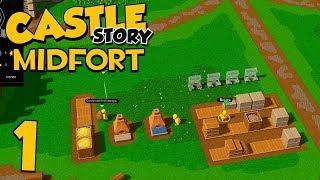 Castle Story VERSUS on Midfort - Part 1 - AND SO IT BEGINS