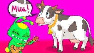 НОВЫЙ ЭПИСОД | Groovy Марсианин | Познакомьтесь с друзьями с фермы в детском зоопарке.