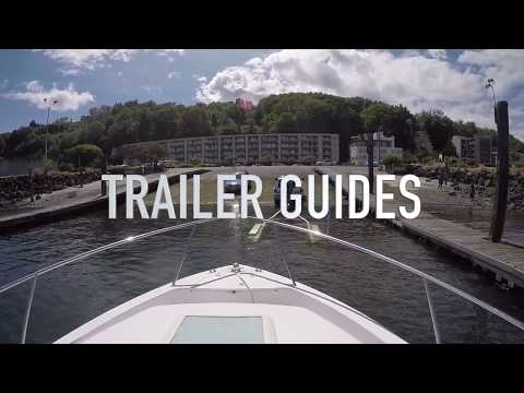 Install Boat Trailer Guides to Keep Your Boat Straight When Loading
