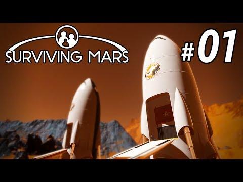 Surviving Mars 01 - New Colony | LIVE |