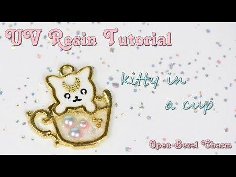 kawaii-uv-resin-tutorial:-open-bezel-charm---kitty-in-a-cup
