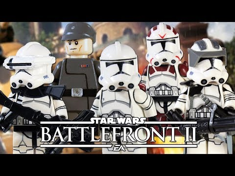 Custom LEGO Star Wars Battlefront II: Republic Clone Troopers