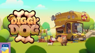 My Diggy Dog 2: iOS/Android Gameplay Walkthrough Part 1 (by King Bird Games)