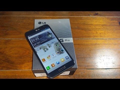 LG Optimus G Pro - E989 - Unboxing e Primeiras Impressões