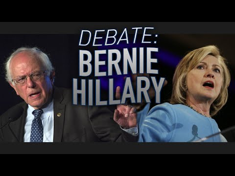 'Debate': Bernie Sanders vs Hillary Clinton