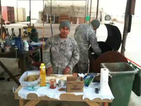 IRAQ COOKING SHOW FROM BAHGDAD IRAQ