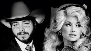 Post Malone VS Dolly Parton - Leave Jolene (MASHUP)
