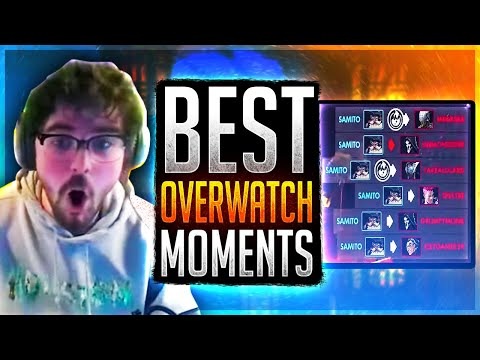 """""""SAMITO IS POPPING OFF!!"""" Samito Stream Highlights (Overwatch Top 500)"""