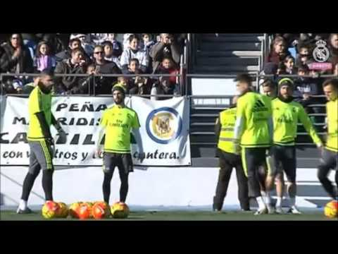 [Real Madrid TV] Entrenamiento Real Madrid...