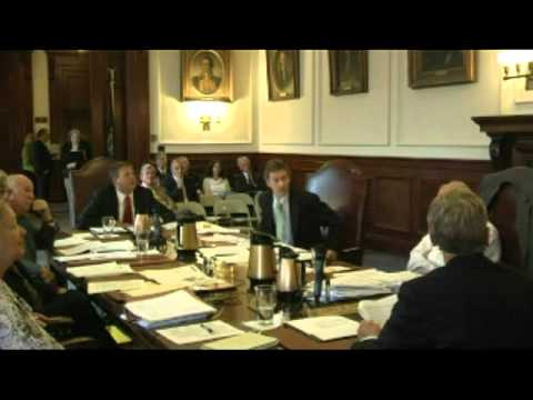 Governor & Executive Council Meeting Oct. 26th, 2011 - Part 2 - 52 Mins. of the 144 Mins.VTS 01 3