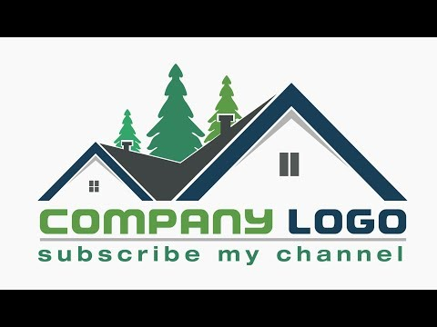 House Logo || how to create a logo for online contest || Illustrator logo