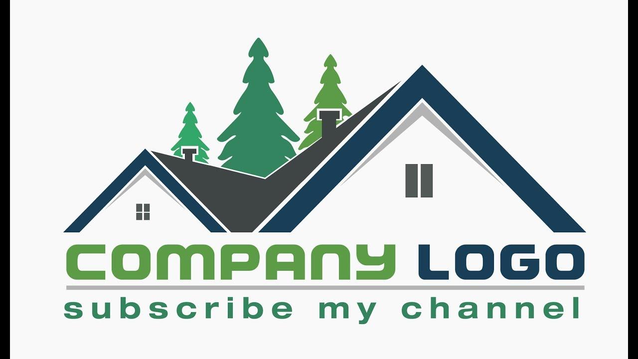 House Logo Design In Adobe Illustrator Cc