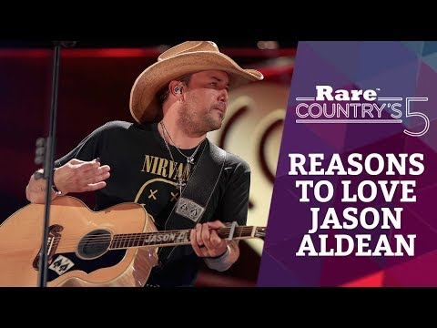 5 Reasons to Love Jason Aldean | Rare Country's 5