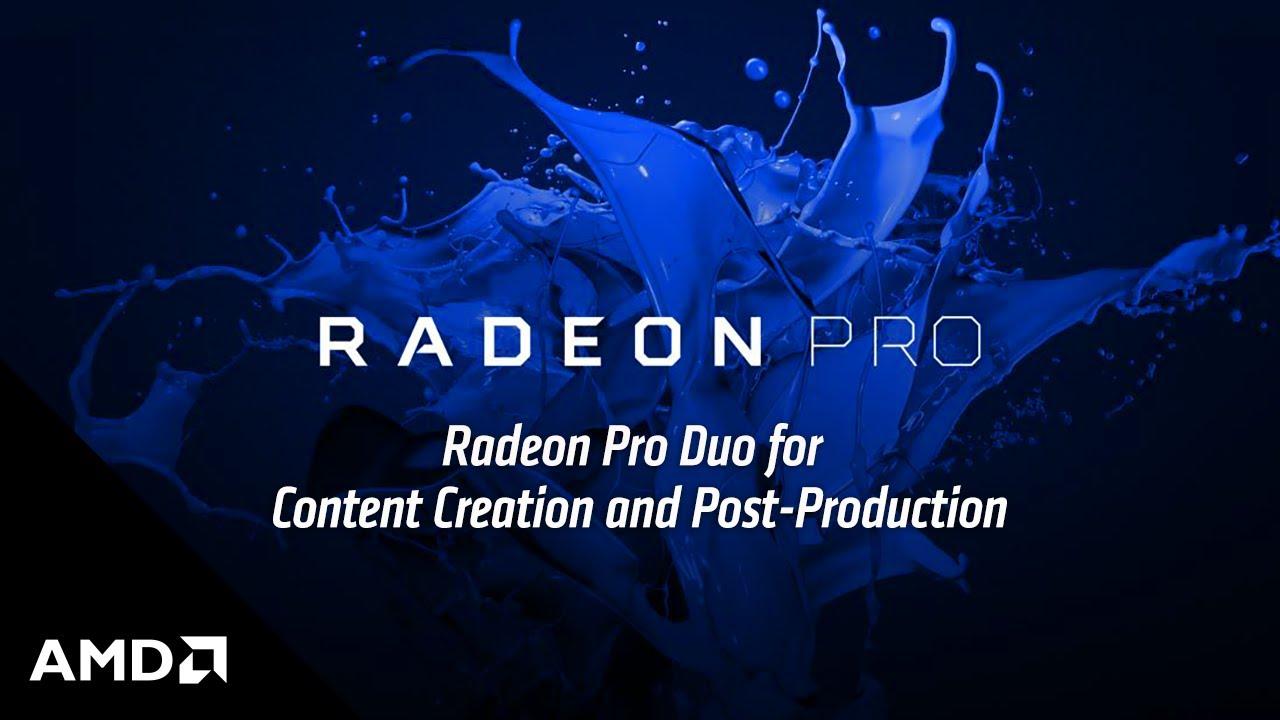 Radeon™ Pro Duo Polaris Graphics Card | AMD