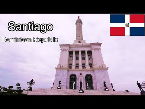 Santiago - Dominican Republic - Walk to Monuments to the Heroes - 2017 4K