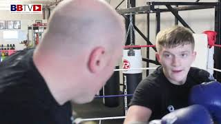 BEHIND THE SCENES: CAMPBELL HATTON PAD WORKOUT WITH UNCLE MATTHEW HATTON
