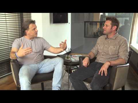 Stephen Fanuka & George Oliphant Talk Shop In Million Dollar Apartment