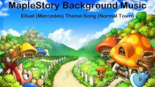 MapleStory Elluel (Mercedes Town) Theme Song [HD Sound]