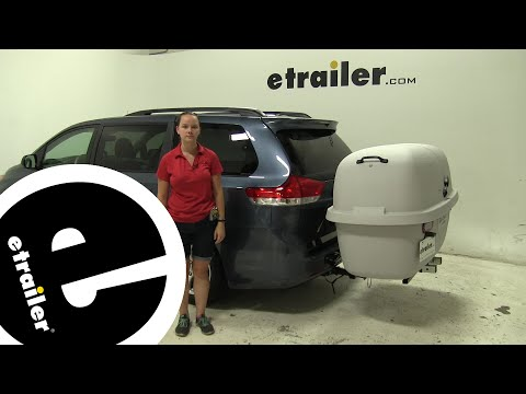 Review of the Lets Go Aero  Hitch Cargo Carrier on a 2014 Toyota Sienna - etrailer.com
