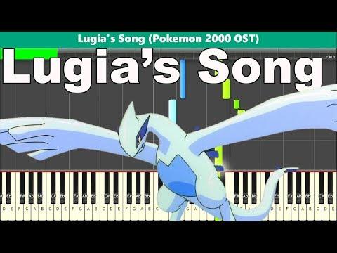 Lugia's Song Piano Tutorial - Free Sheet Music (Pokemon 2000 OST)