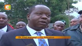 VIDEO: C.S Mating'i assures students of exam integrity