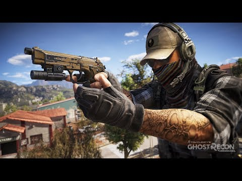 GHOST RECON MULTIPLAYER 4v4 PvP GAMEPLAY
