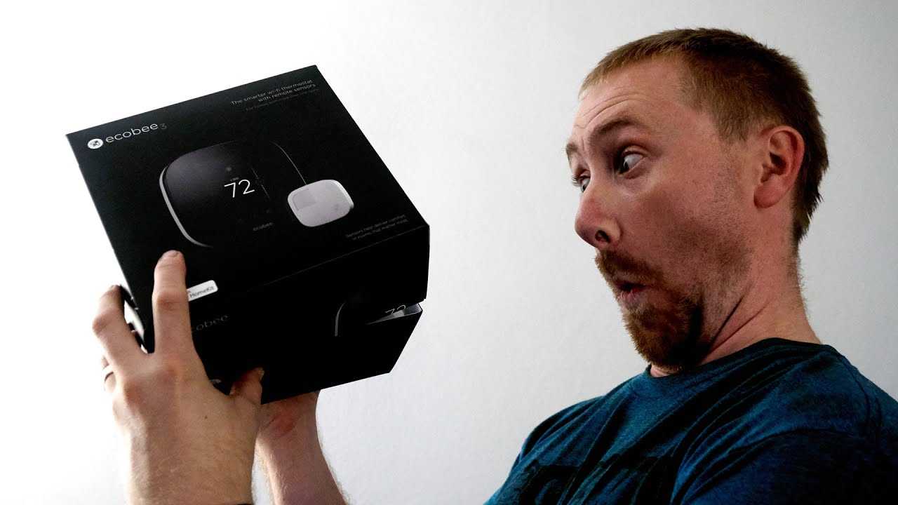 Ecobee3 Smart Wifi Thermostat Unboxing