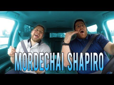 Mordechai Shapiro Carpool Karaoke w/ Yitz Mendlowitz