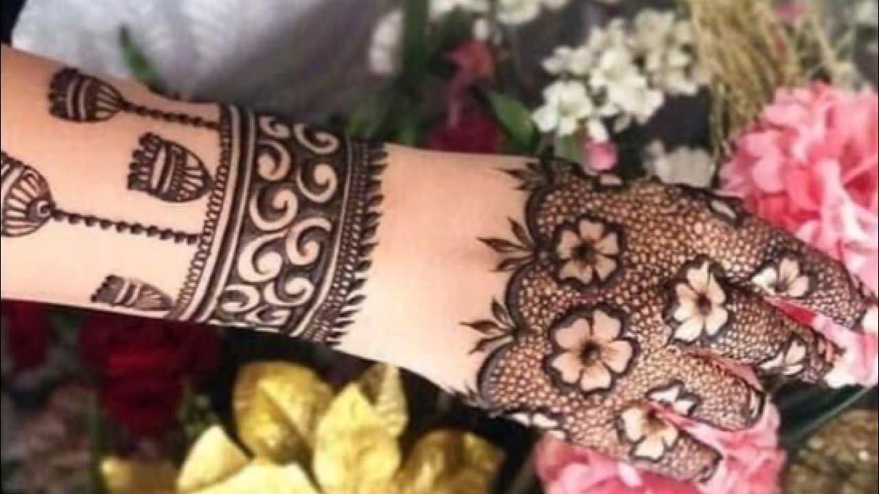 arabic modern mehndi designs for back hand