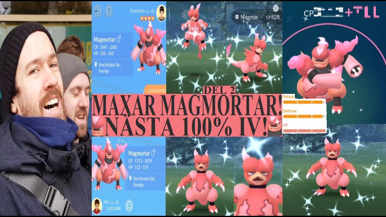 Pokemon GO på Svenska | MAXAR MAGMORTAR + SHINY TRADE! | Johans Pokemon GO