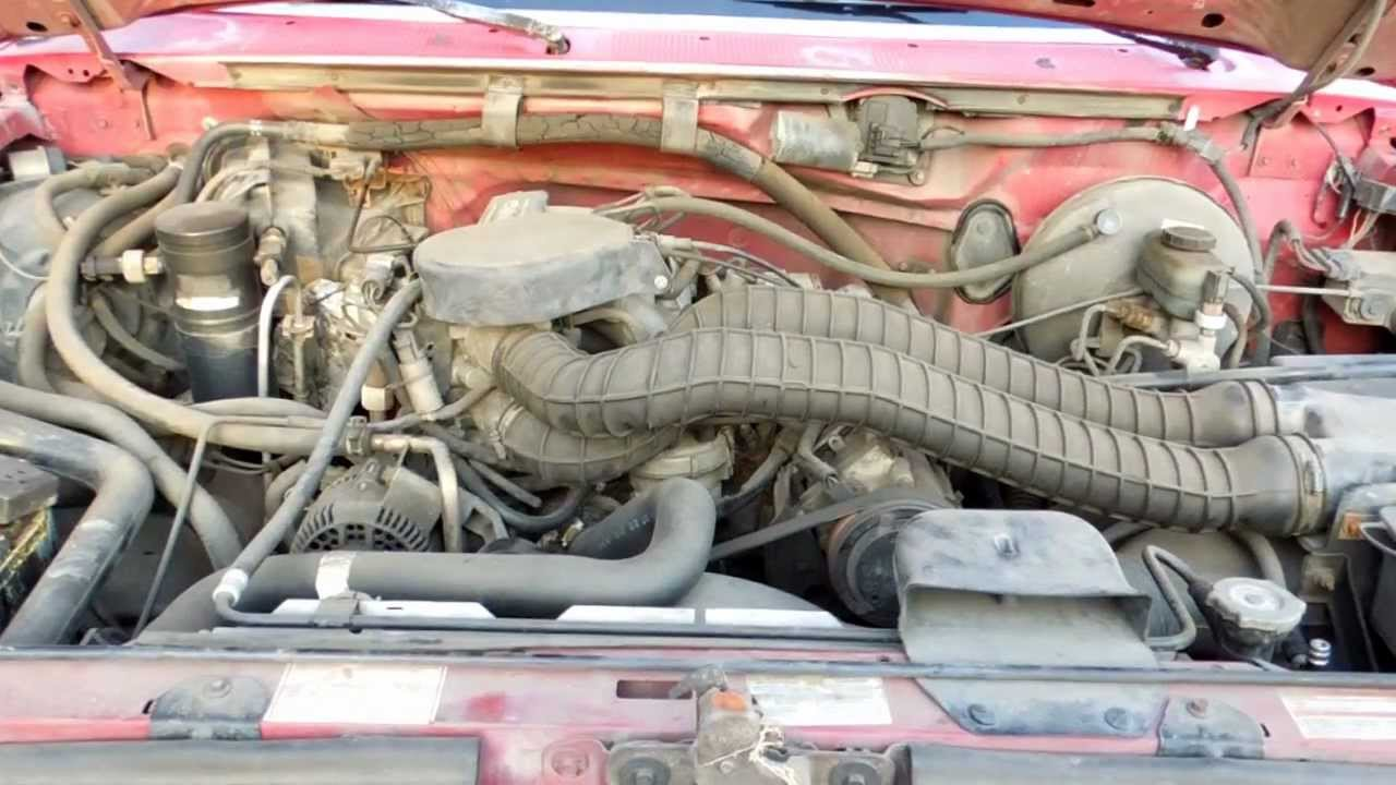 1994 ford f150 5 8l efi manifold absolute pressure map sensor location -  youtube