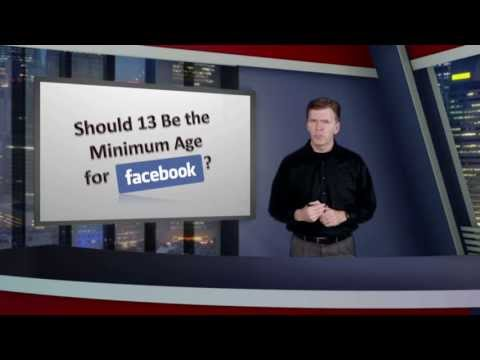 Should 13 be the minimum age for Facebook?