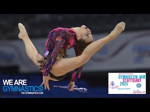 2015 Rhythmic Worlds, Stuttgart (GER) - Highlights 3, All-Around Final (group B)