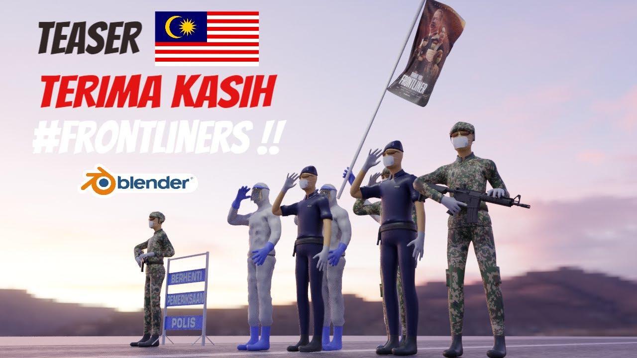 Teaser Terima Kasih #FRONTLINERS MALAYSIA
