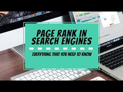 PAGE RANK IN SEARCH ENGINES | DOES IT REALLY EXISTS?