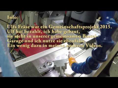 Ulfs DIY CNC Fräse macht T-Nutensteine M8 aus Alu