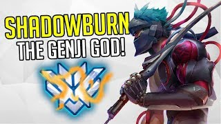 "BEST OF ""SHADOWBURN"" THE GENJI MASTER - Overwatch Shadownburn Montage & History"