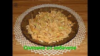 Кабачки жаренные в кляре (西葫芦切丝条炒在面糊):китайская кухня
