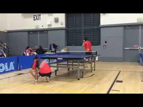 2014  Berkeley Open Women Open Semi-Final Yixiao Wang vs Shuang Wang Game3