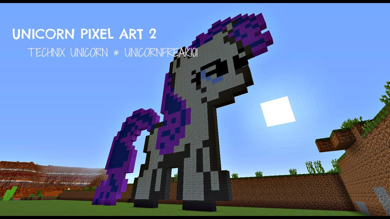 how to make a unicorn on minecraft