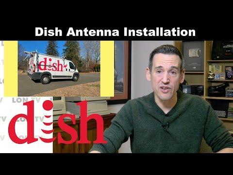 Dish OTA Antenna Installation Update