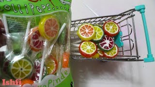 Sweet lollipop carrying by toy trolly from Ishfi