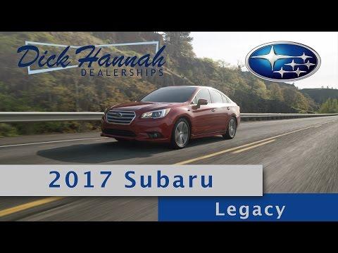 Dick Hannah Subaru >> 2017 Subaru Legacy Review Dick Hannah Subaru