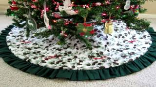 Christmas Tree Skirt Designs | 2012 Collection