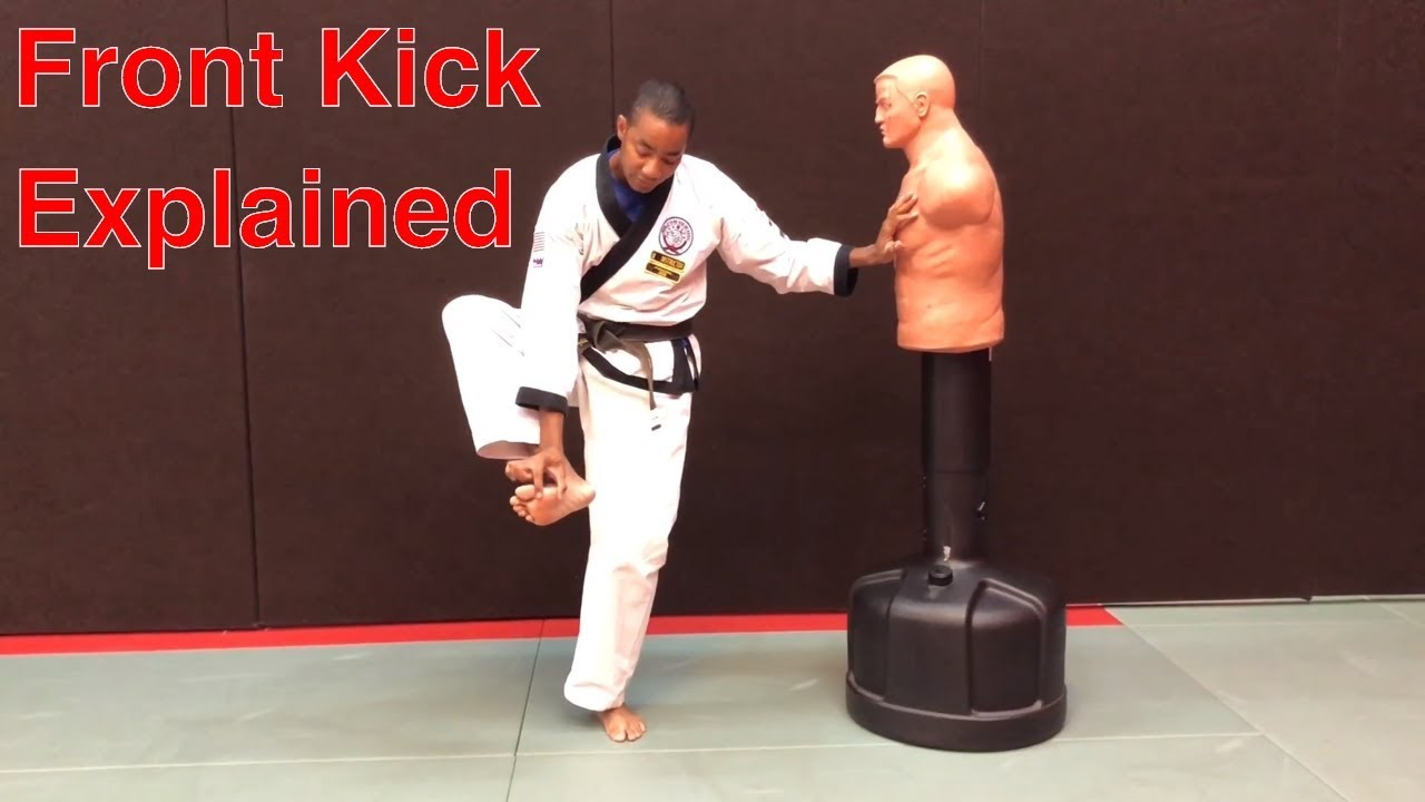 Watch How to Use a Front Kick for Self Defense video