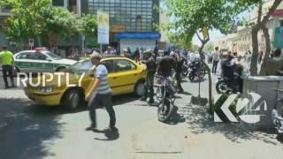 Iran  Twin attacks on Iran's parliament and Khomeini shrine   reports