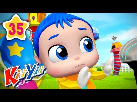 No No No Play Safe In Playground | Plus More Nursery Rhymes | by KiiYii | Baby Songs & Kids Songs